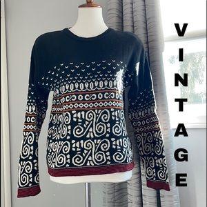 Vintage Carol Little sweater